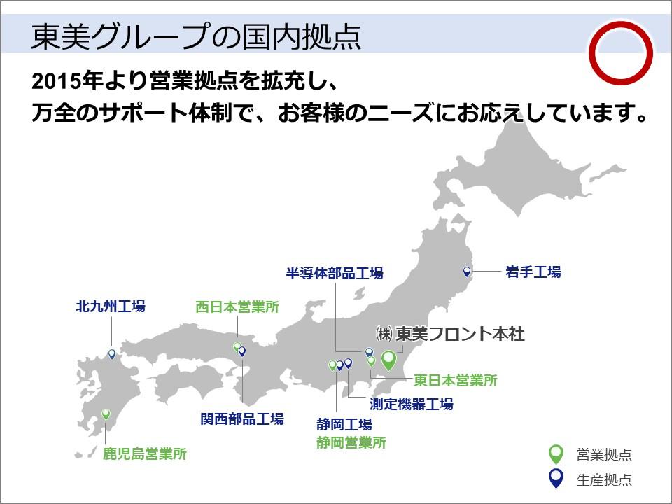 L字型と地図